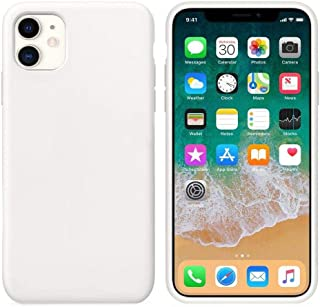 Matte Plastic Flexible Protection Cover for Apple iPhone 11 (White)