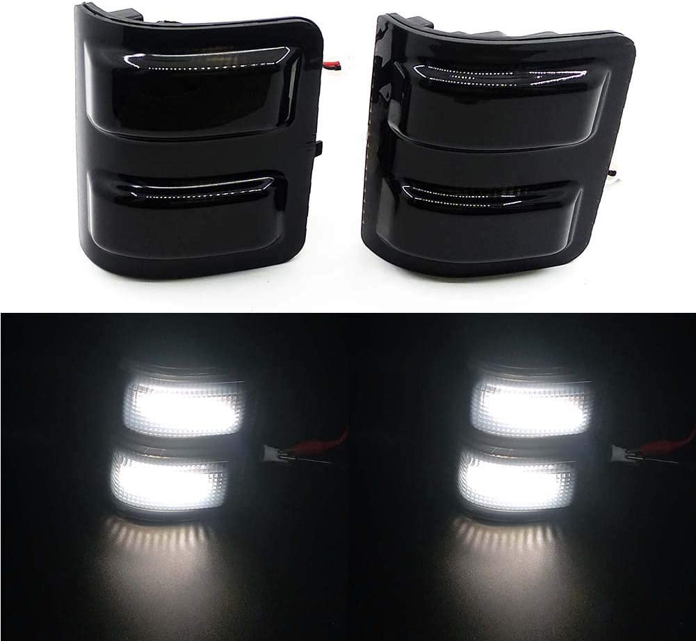 Dedication Xinctai 2PCS LED Side Mirror Marker Opening large release sale Lamp Signal for 2 Turn Light