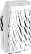 Hysure Portable Mini Dehumidifier Electric, Small Air Purifier, Deshumidificador, Bathroom Dehumidifier for Home, Crawl Space, Bathroom, RV, Baby Room, White