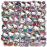 BUCUO Hello Kitty Decorative Stickers Cute Cartoon Phone Cup