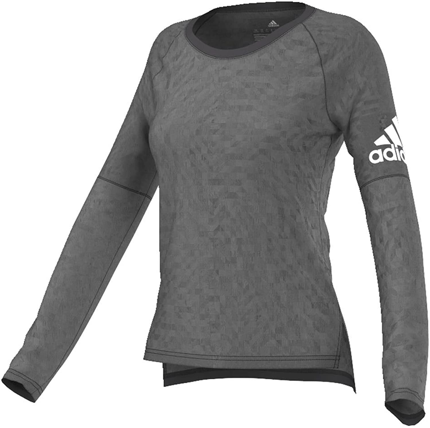Adidas Womens Performer Training Coverup L Utility BlackMatte Silver