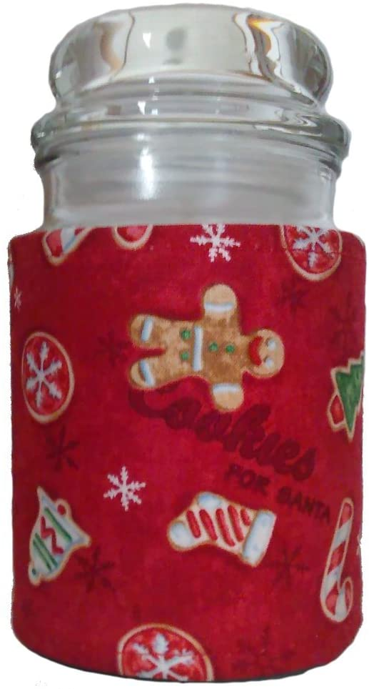 Accented Apparel N More Insulated Jar Candle New product! New type Wrap Co Christmas Los Angeles Mall -