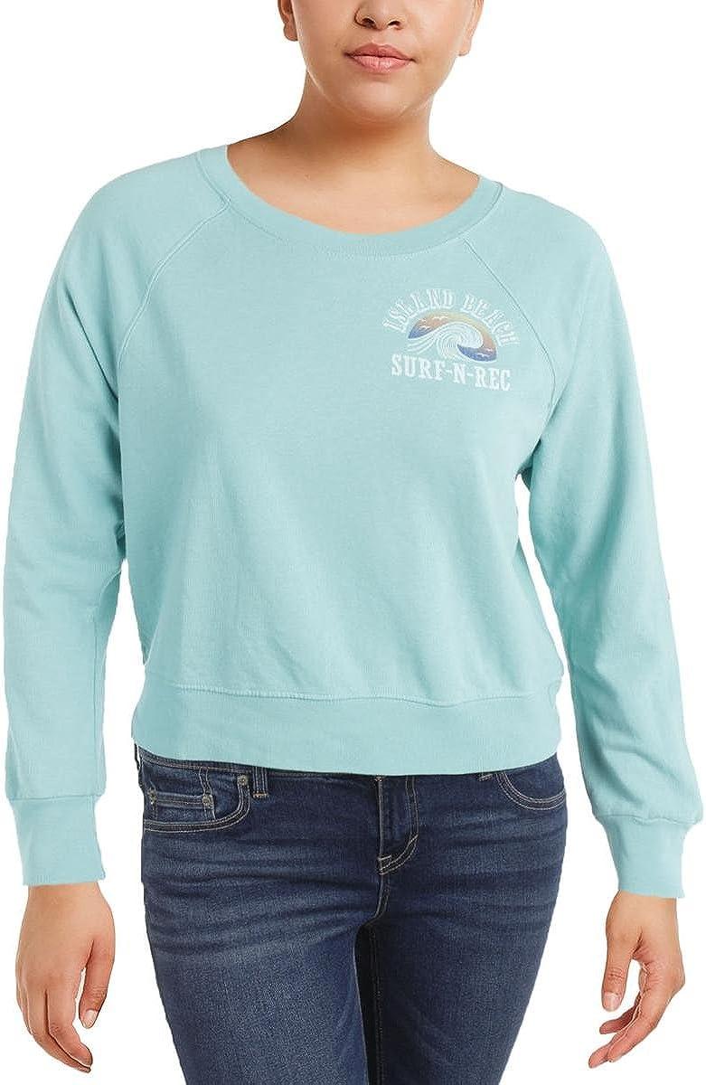 Denim & Supply Ralph Lauren Cotton Graphic Sweatshirt Green Size X-Small