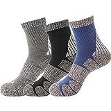 3足セット 靴下 メンズ メリノウール 足底パイル 冬 防寒 中厚手 アウトドア普段着 24-28cm