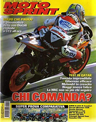 Motosprint 10 Marzo 2005 Honda Hornet, Suzuki SV 650, Yamaha FZ6
