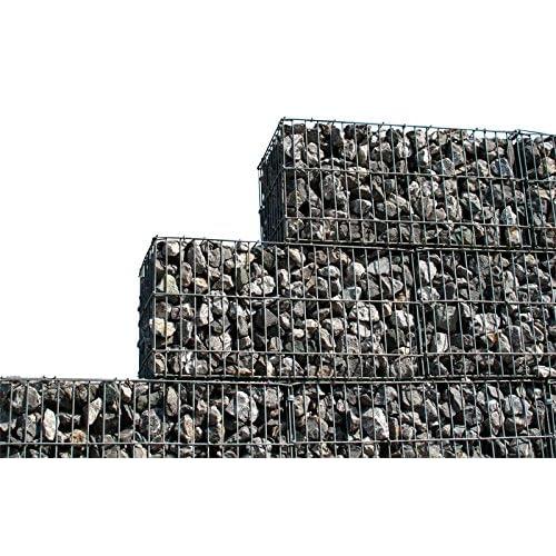 Zaun Mit Steinen Amazon De