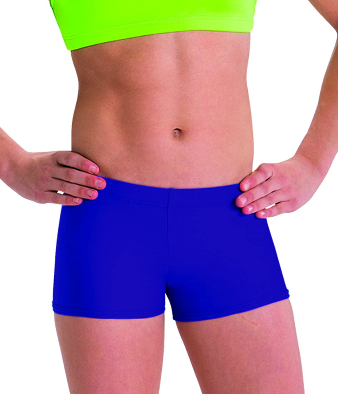 Motionwear Perfect Active Gymnastics Low Rise Shorts, Ultrapurple, XLarge Adult