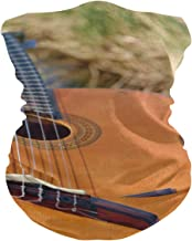 PINLLG Gitaar Snaarinstrument Gezichtsmasker Bandana Wasbare Hoofdband voor Stof Sport Magic Sjaal Hals Gaiter Mannen Vrouwen