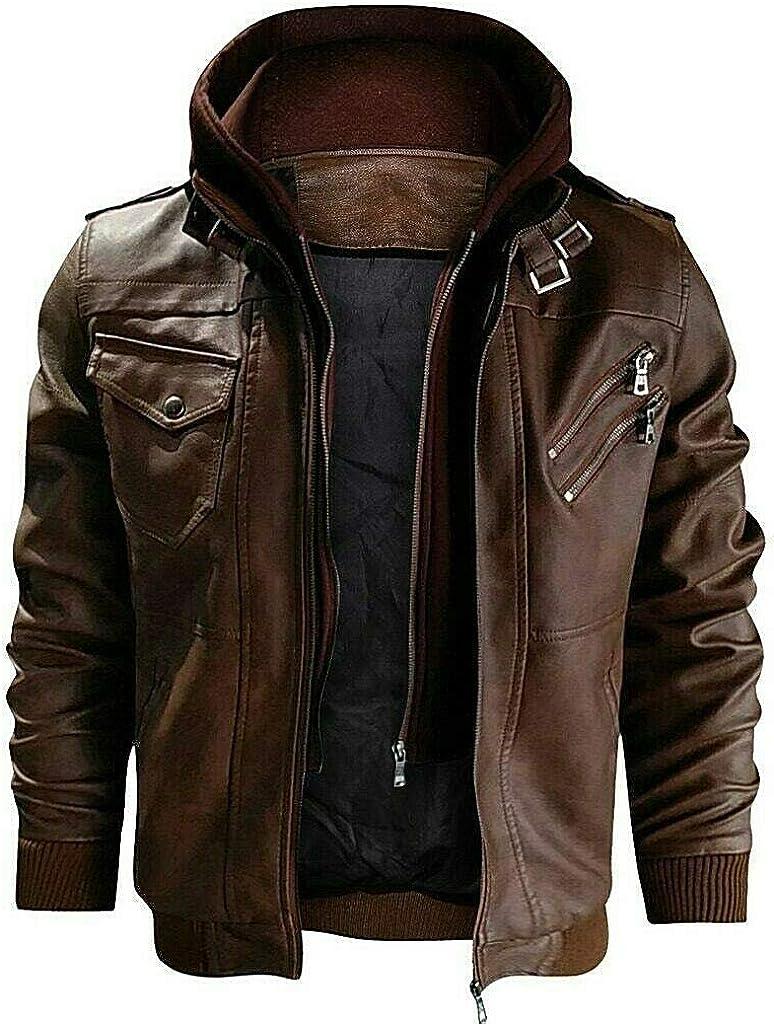 Denzell Outwear Anarchist Chamarras De Hombre Plus Size Leather Jacket At Amazon Men S Clothing Store [ 1024 x 779 Pixel ]