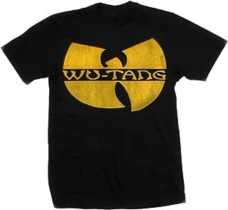 Bravado Men's Wu-Tang Clan Distressed Logo T-Shirt