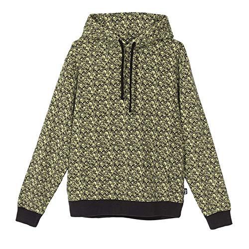 Stussy Vintage Bones Hoodie 118330 Limette Sweatshirt für Herren, Grün M