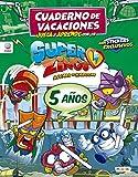 Cuaderno de Vacaciones juega y aprende con los Superzings para 5 años