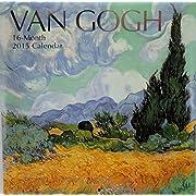 2015 Van Gogh 16 Month Wall Calendar