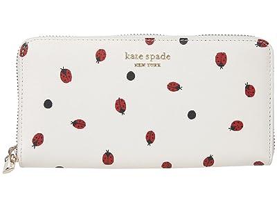 Kate Spade New York Lady Bug Zip Around Continental Wallet