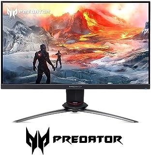 Acer Predator XB273 Pbmiprzx 27インチ FHD (1920 x 1080) IPS NVIDIA G-SYNC ゲーミングモニター 4ms(GからG)、144Hz、99% sRGB (ディスプレイポート x 1 &...