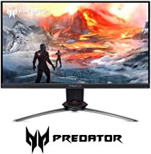 "$327 » Acer Predator XB253Q Gpbmiiprzx 24.5"" FHD (1920 x 1080) IPS NVIDIA G-SYNC Compatible Gaming Monitor, VESA Certified DisplayHDR400, Up to 0.9ms (G to G), 144Hz, 99% sRGB (1 x Display Port & 2 x HDMI)"