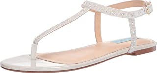 Blue by Betsey Johnson Lux Flat Sandal