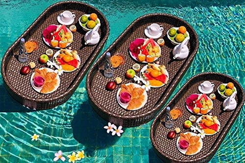 quality assurance Color Customize HN Patio Furniture Rare Set of Floating Tray 3 Luxur