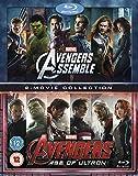 Avengers Age Of Ultron / Avengers Assemble Doublepack [Blu-ray] [Region-Free] [UK Import]