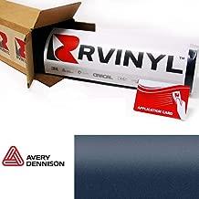 Avery SW900 623-M Matte Metallic Night Blue Supreme Wrapping Film Vinyl Vehicle Car Wrap Sheet Roll - (12