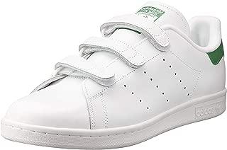 adidas, Men Stan Smith Shoe, White, 5.5 US