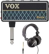 VOX AP2BS amPlug 2 Bass Headphone Amplifier with Over-Ear Headphones