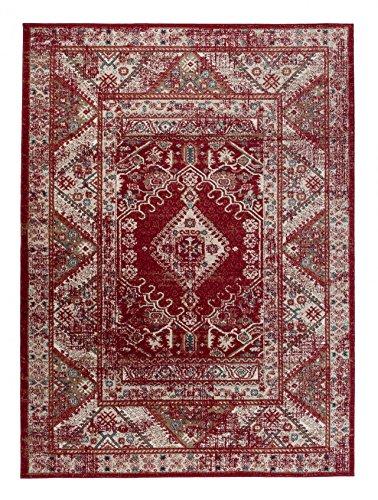Carpeto Rugs Tapis Salon Rouge 200 x 300 cm Oriental/Emirat Collection