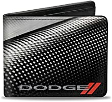 Buckle Down Women's Card and ID Cases Wallet, Color: Black