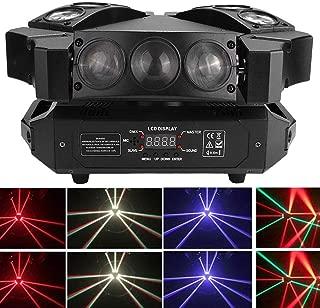 FRIJOL 90w de alta potencia de 12/19 canales DMX Led luz de la etapa, la etapa del LED Mini Bird viga móvil de iluminación luz de la cabeza DMX del partido del disco de DJ, totalmente ajustable y regu
