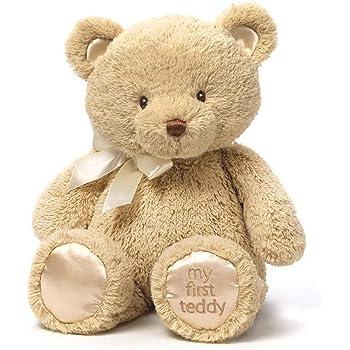 GUND Ginger Teddy Bear Stuffed Animal Plush 15 15 4059114 Beige