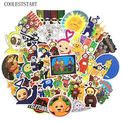 De Teletubbies Stickers Voor Kinderen Thuis Decor Leuke Cartoon Graffiti Sticker Motorfiets Skateboard Laptop Stickers49 Stks/pak