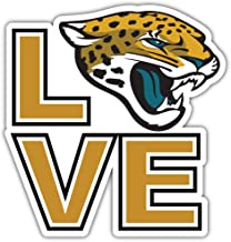 ملصق ملصق من الفينيل مطبوع عليه شعار فريق جاكسونفيل سيتي جاكوار الرياضي لكرة القدم مقاس 30.48 سم × 30.48 سم