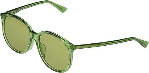 Shiny Transparent Green