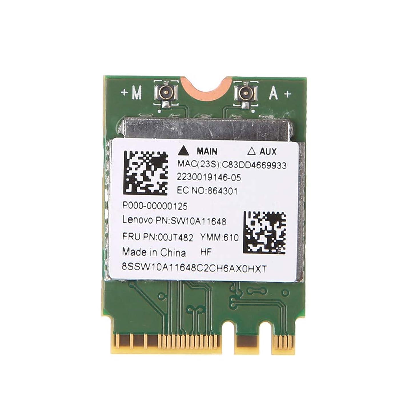 Abnana ?RTL8821AEのデュアルバンド2.4 + 5 GHz 433M Bluetooth V4.0 NGFF M.2ワイヤレスカード