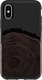 Otterbox Symmetry Series Case for iPhone X/XS (ONLY) - Wood You Rather Black (Renewed)