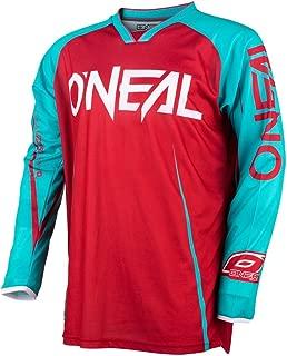 O'Neal Unisex-Adult MAYHEM LITE BLOCKER JERSEY RED/TEAL XL (X-Large)