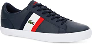 Lacoste Lerond 119 3 Mens White/Navy Trainers
