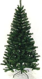 comprar comparacion Hengda® Árbol de Navidad Artificial PINOS único Árbol Decorativo con Soporte en plástico Christmas 220CM Verde con 1000ram...
