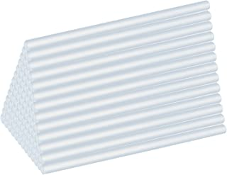 Bisoff グルースティック透明材質ホットメルトかつ強力粘着 7mm*100mm 高温ボンドガン/グルーガン/ピタガン替え用 大容量100本入(クリア)