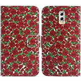 TienJueShi Rose Flower Book-Style Flip Leather Protector