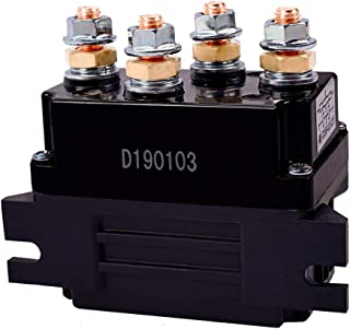 ORCISH 12V 500A Winch Solenoid Relay for 8000-15000lb ATV UTV Truck Winch Replacement
