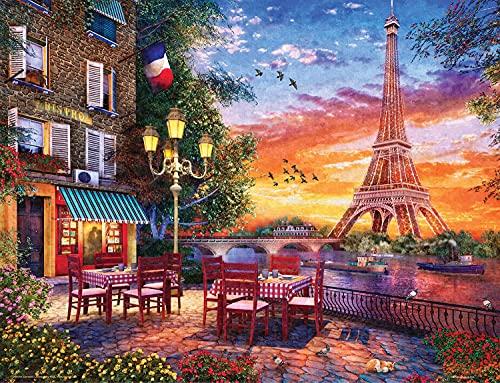 Springbok 500 Piece Jigsaw Puzzle Paris Romance