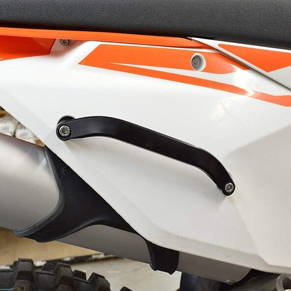 Asa Trasera Motocicleta Pasajero trasero de la motocicleta Grab Bar Mango for KTM 125 150 250 300 350 450 500 SX SXF XC XCF XCW EXC EXCF 2016-2017 2018 2019 Cualquier Departamento Color : Blue