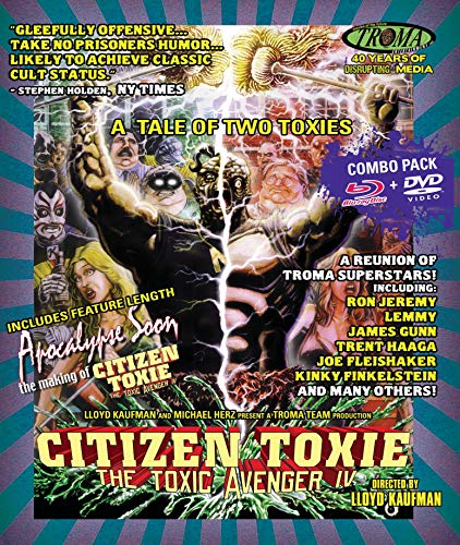 Price comparison product image Citizen Toxie: The Toxic Avenger IV (Blu-ray + DVD Combo)