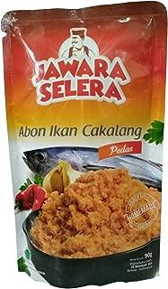 Jawara Selera Abon Ikan Cakalang - Skipjack Floss - Spicy - 90 gr (pack of 3)