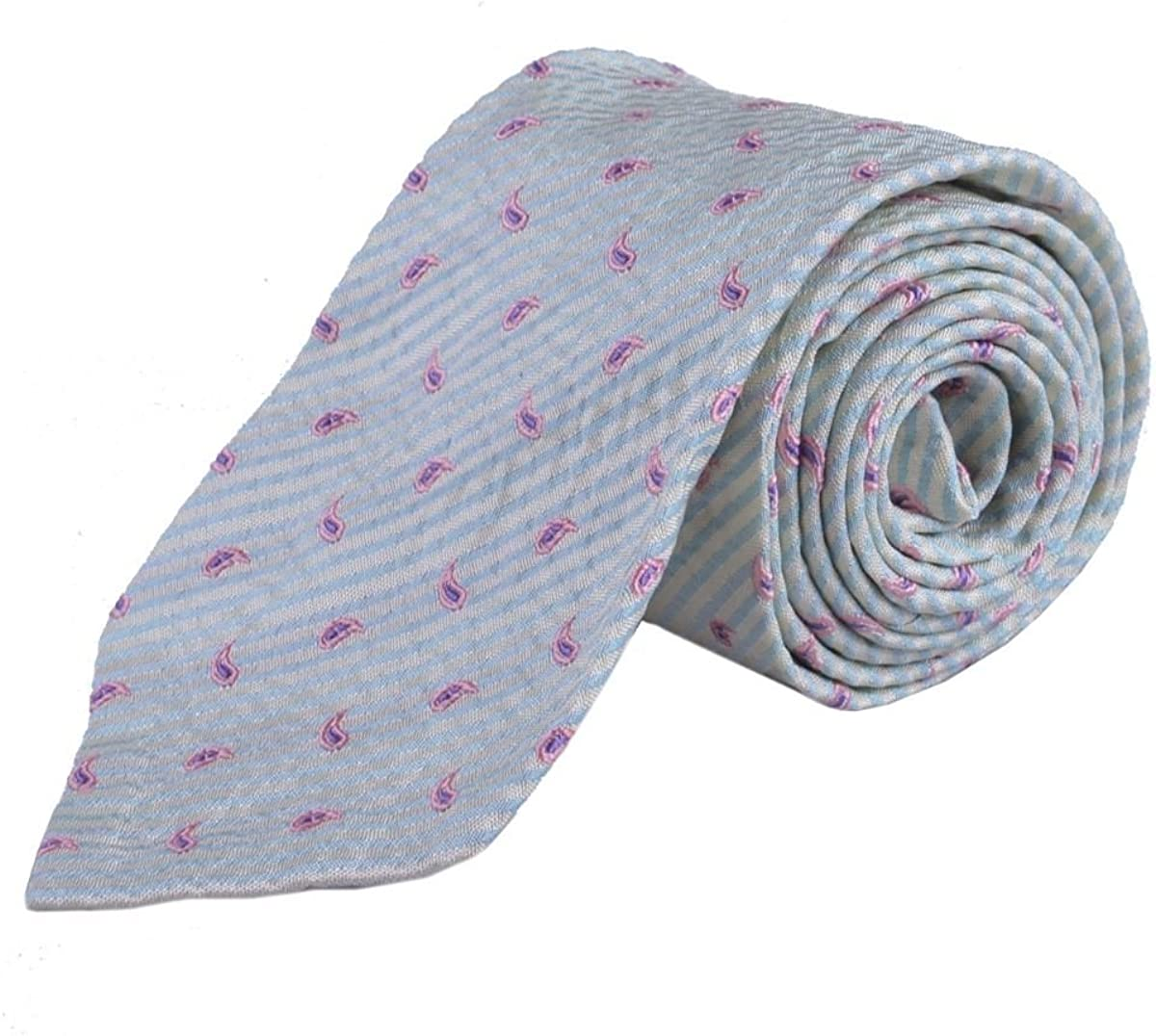 Holliday Brown Men's 100% Silk Inventory cleanup selling sale Hand Now free shipping Multi-Color Made Neckwear