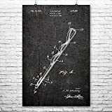 Patent Earth Hair Pin Poster Print, Stylist Gift, Bobby Pin, Hair Dresser, Cosmetology Student, Cosmetologist Gift, Hair Styling