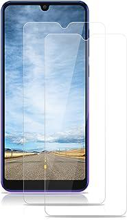 ROVLAK skärmskydd för Alcatel 3X 2019 skärmskydd i härdat glas 2-pack HD 2.5D 9H skyddande film skydd anti-fingeravtryck b...