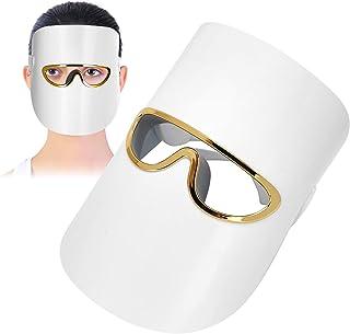 Huidverjonging Foton Masker, 3 Kleuren LED Foton Gezichtsmasker Huidverjonging USB Oplaadbare Foton Therapie Licht Apparaat