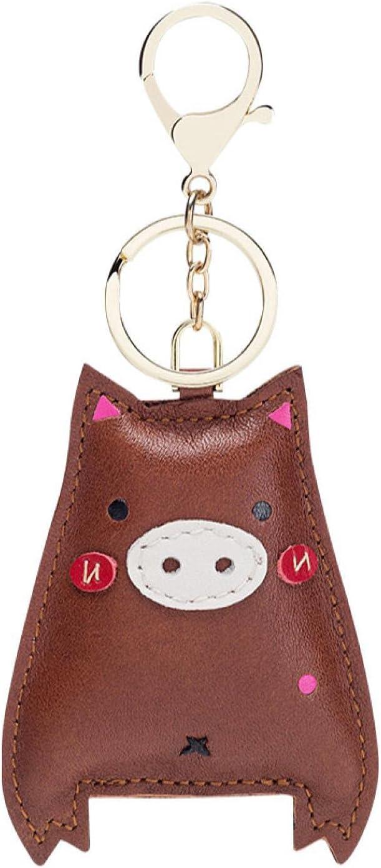 SZLGPJ Cowhide Cartoon Bag Ranking TOP19 Pendant free ca Key Chain Backpack